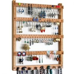 Jewelry organizing display is one of the most popular ways to store your jewelry.