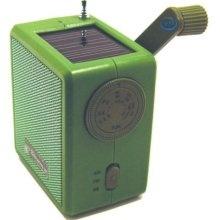 kikkerland solar and crank emergency radio