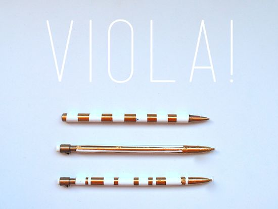 Generalized Loveliness ?: Pretty Pens {do it yourself}