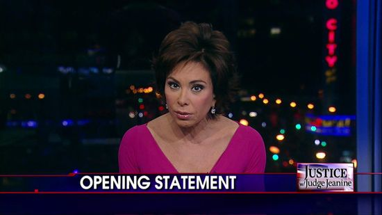 Judge Jeanine Opening Statement Slams Obama Over Health Care Rollout, Lack of Accountability.. I love her!!