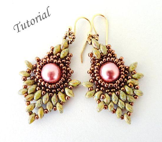 seed beaded earrings patterns