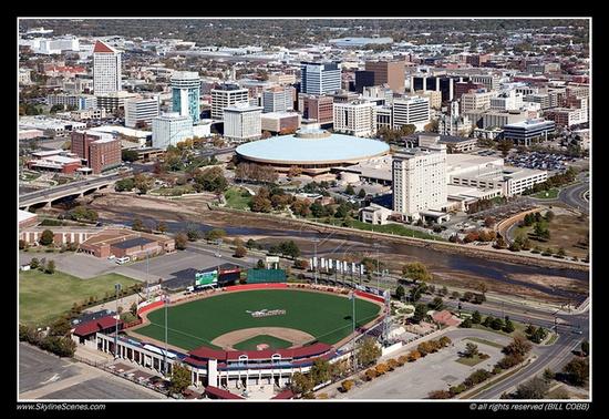 Lawrence Dumont Stadium, Wichita, KS