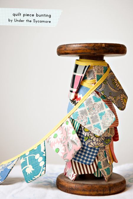 quilt fabric bunting