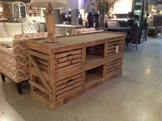 The Francis Kitchen Rack from Cornerstone Home Interiors $649.00.  www.cornerstonefu...