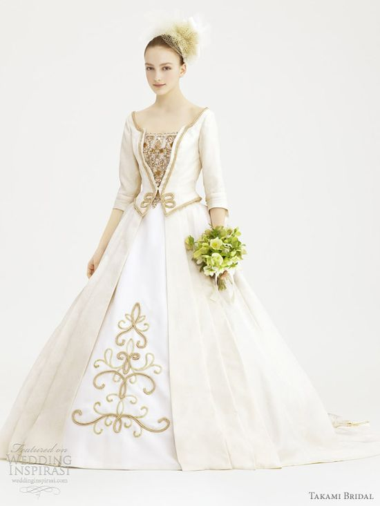 takami bridal royal wedding dress 2012 boucher