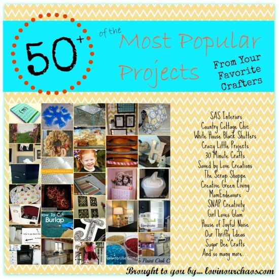 50+ of the Most Popular #Projects and #Blog Posts from Your Favorite #Crafters