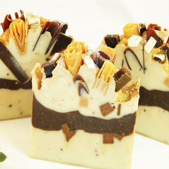 Vanilla Spice Handmade Artisan Vegan Soap.