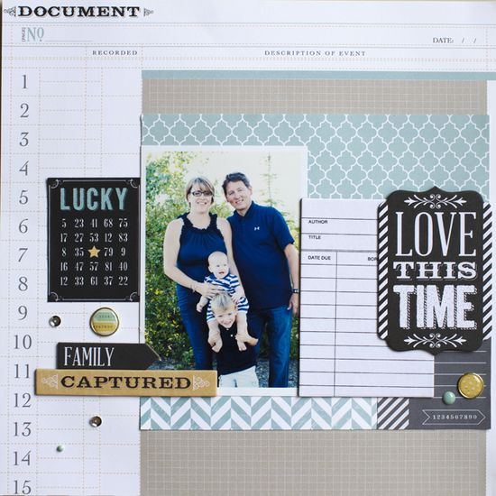 Love this time - Scrapbook.com