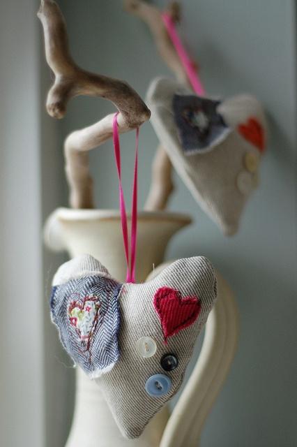 Love ornaments.