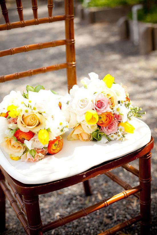Summer #Wedding Bouquets: Fresh, Joyful :)
