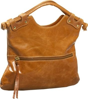 Convertible leather handbag