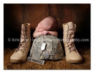 Newborn with Helmet & Boots