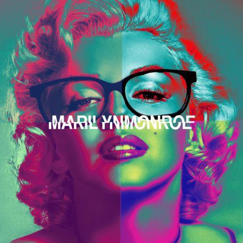 Marilyn Monroe #Marilyn_Monroe #Marilyn #Monroe #Vintage #60s #swag #glasses