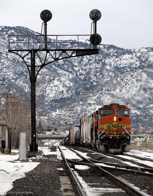 Train in Tehachapi, California.