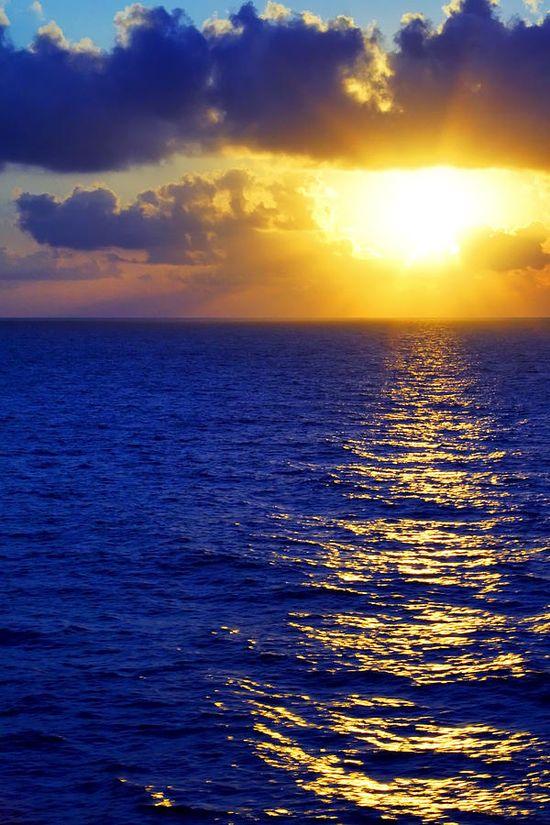 ? Sunrise At Sea