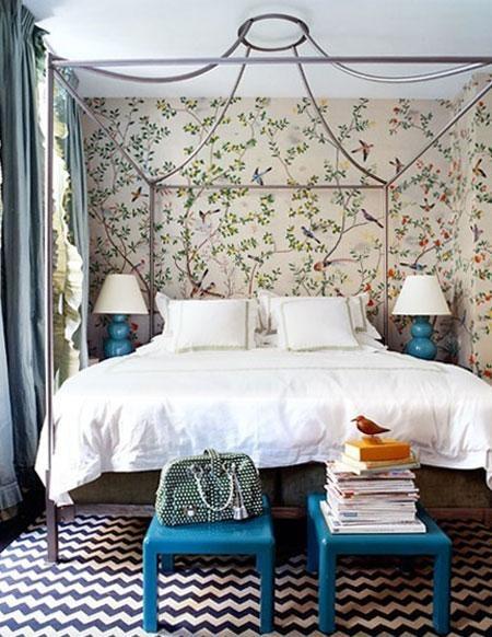 Designer: Miles Redd. Image: milesredd.com. #Chinoiserie #bedroom