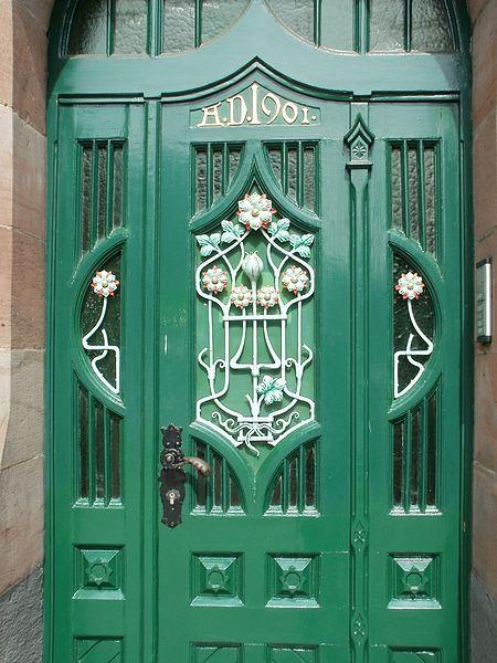#door in Germany