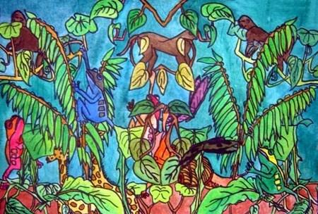 Rousseau Jungle Paintings