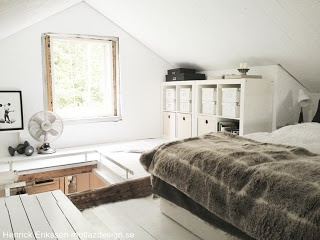 After: attic bedroom
