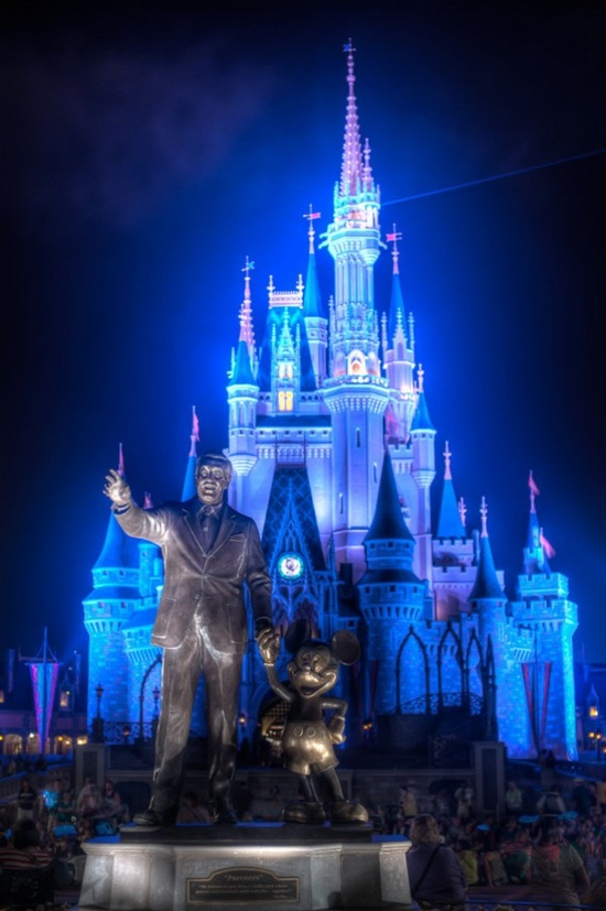 Cinderella Castle, Magic Kingdom, Disney World