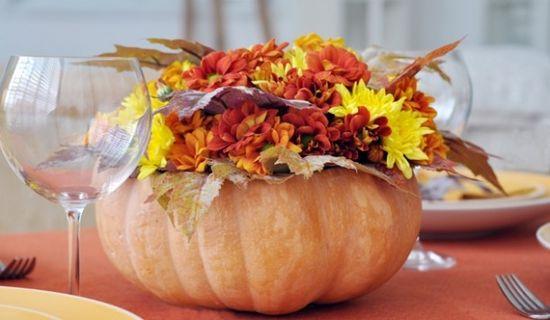beautiful flower arrangement for the fall