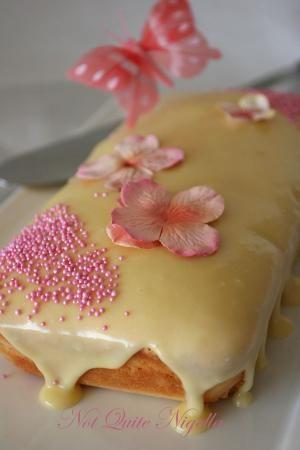 Grandmother Paul's Sour Cream Pound Cake with Sour Cream icing Recipe