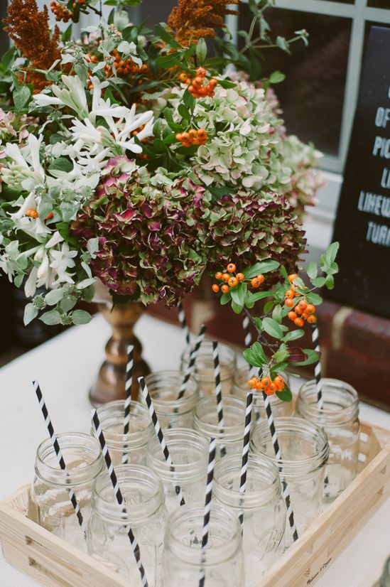Rustic fall party ideas