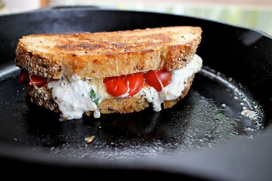 lasagna grilled cheese by joy the baker, via Flickr