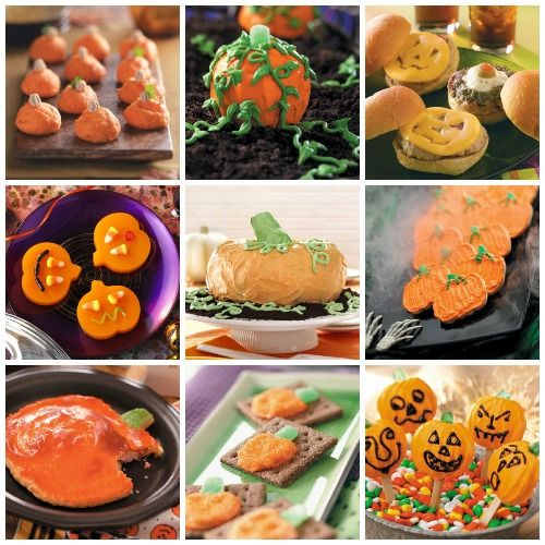 Pumpkin Halloween Party Recipes from Taste of Home