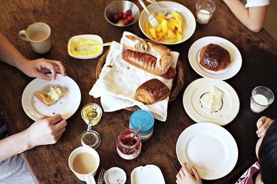 dream breakfast.