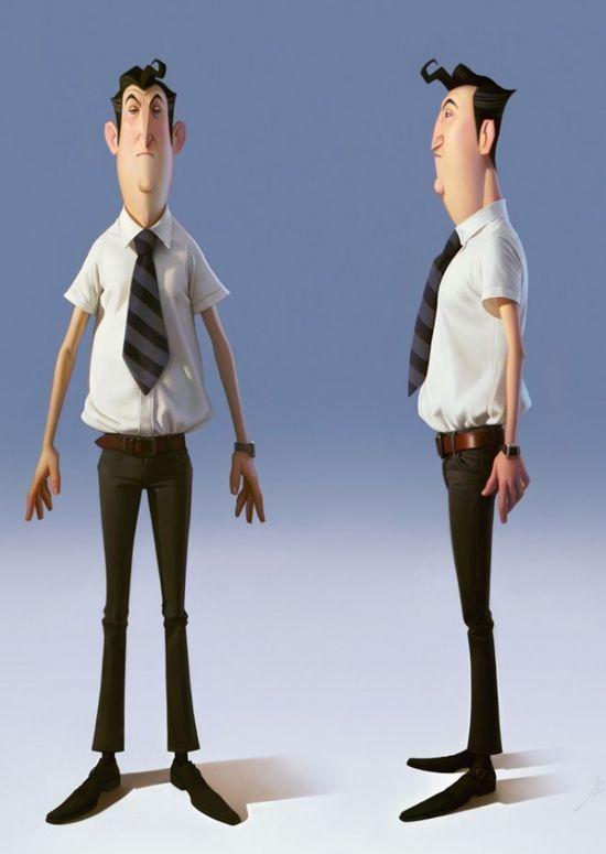 3D Character Design (5)