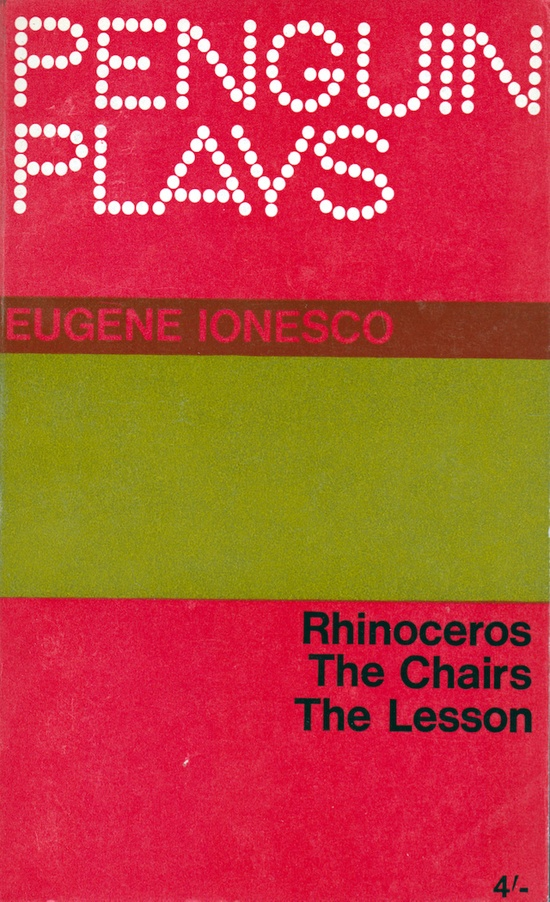 I have a vintage set of these Penguin Plays. Each cover is a different colour.