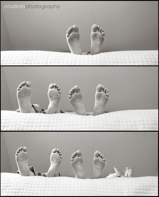 Feet pic... so cute!