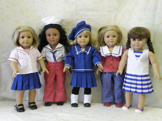 American Girl clothes pattern bundle!  Great value and cute patterns.