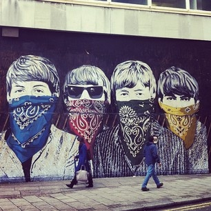 #Graffiti #Beatles