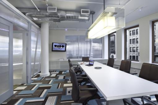 Tuller McNealus Feld, Architect: Elvira Gershengorn, Principal  by Daniel Mirer Photographer  #interior #design #office