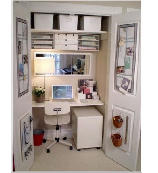 mini office idea