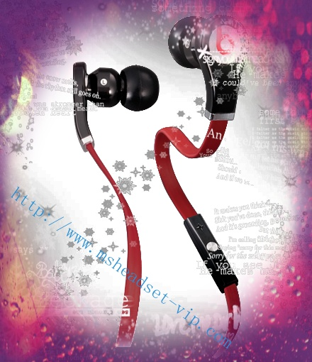 Monster Beats Tour with ControlTalk In-Ear Black Headphones