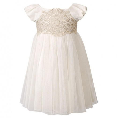 What a pretty flower girls dress this would be!!