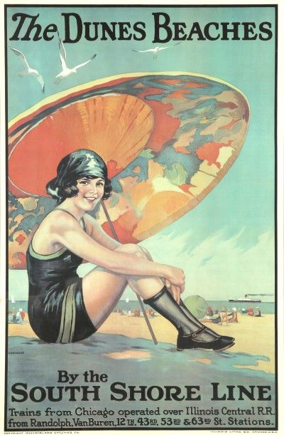 1920s Travel Poster