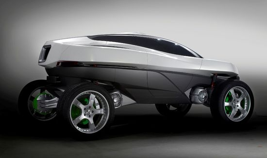 "Futuristic Car, Raffaello 20"" on beON concept car by IED Turin #OZRACING"