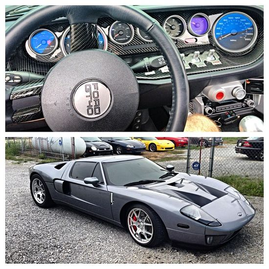 Ford GT inside and out