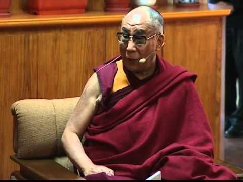 Dali Lama on global warming