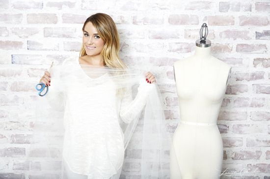 How Lauren Conrad Made Her Tooth Fairy Halloween Costume #DIY #LaurenConrad