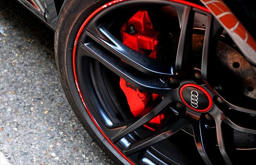 Audi stopping power