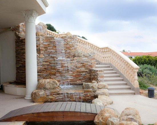 Exterior Round Rock Tile Design, Pictures, Remodel, Decor and Ideas - page 34