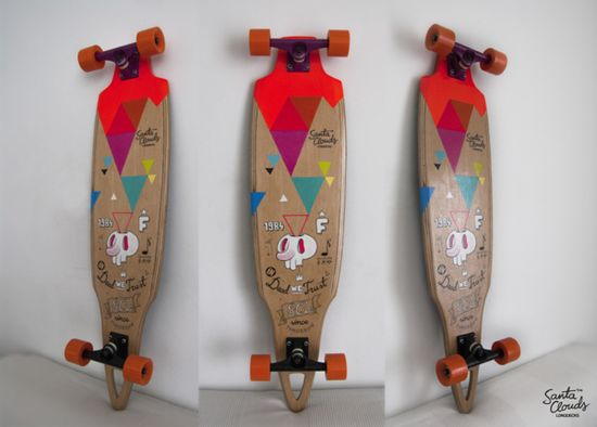 Handmade Longboard on Behance
