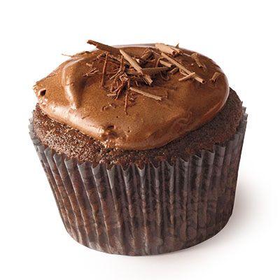Chocolate Cupcake using cooking light cupcake base