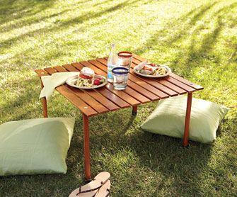 Roll-up Pack-up Picnic Table