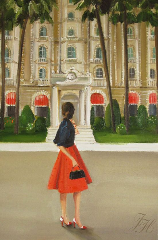 This Is The Place She Had Been Heading All Her by janethillstudio, $43.00